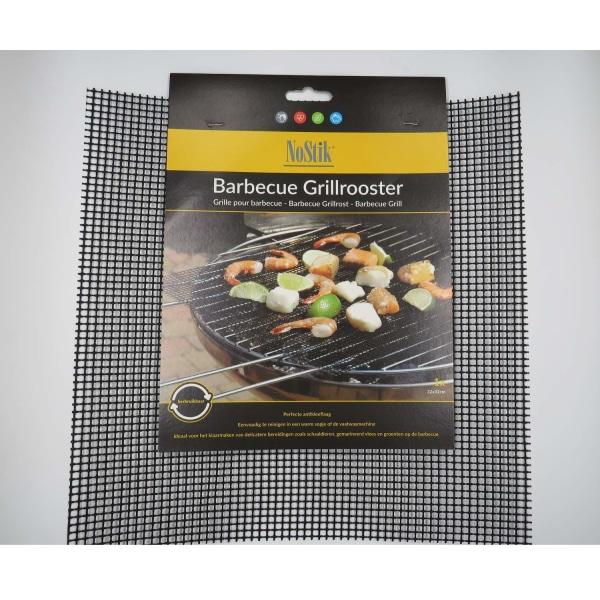BBQ Grillnät/Grillmatta NON-STICK 32X32 CM Svart