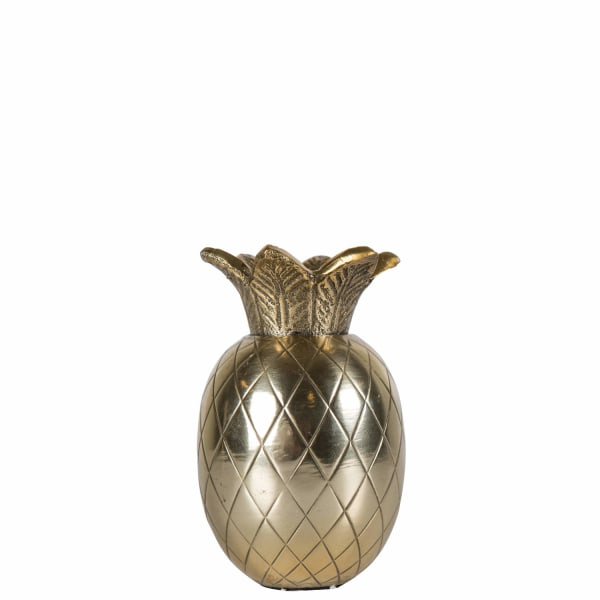 By ON Ljusstake Pineapple Gold 12 cm Guld