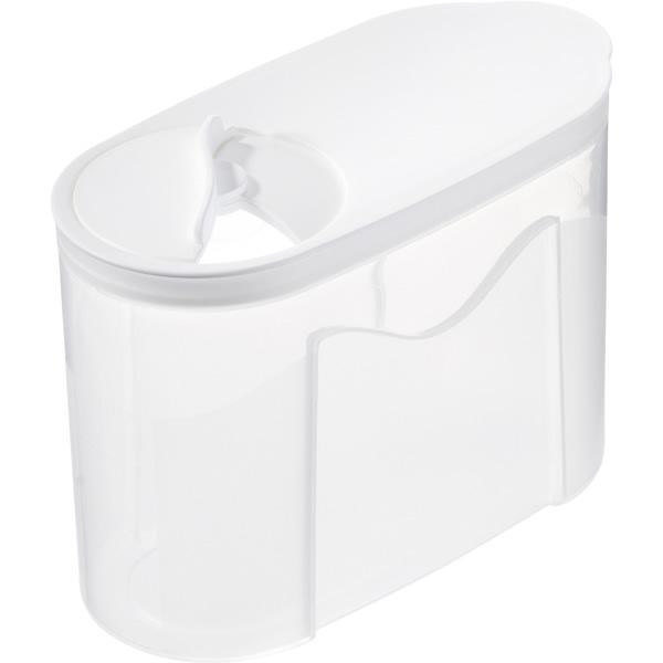 Gastromax Hushållsburk med Vitt Lock  1 L