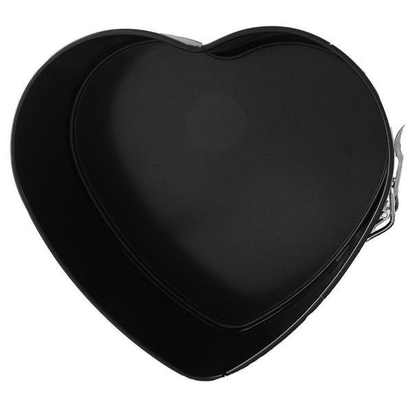 Springform Hjärta 22 cm Gastromax grå