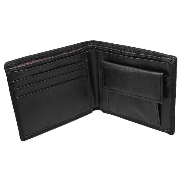 Enkel stilren plånbok - Svart Svart
