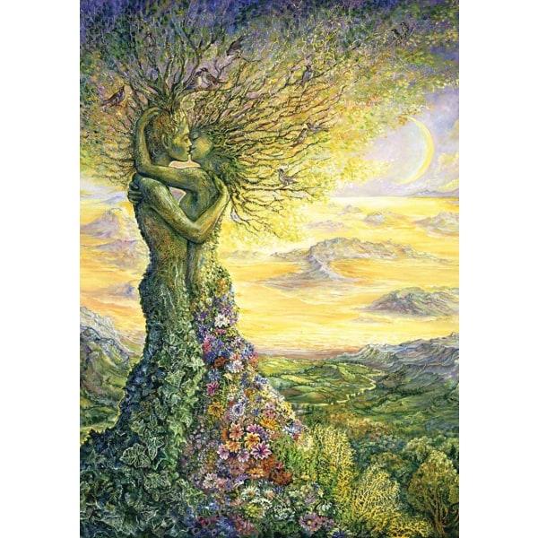 Art Pussel - Kärlek till naturen 1000 bitar multifärg