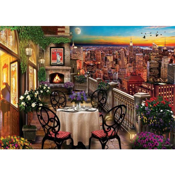 Art Pussel - Middag i New York 1000 bitar multifärg
