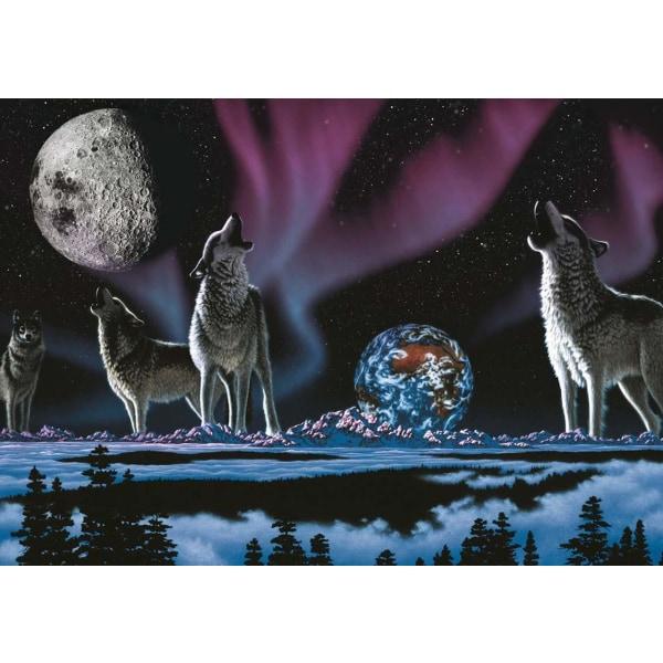 Art Pussel - Universums sång 1000 bitar multifärg