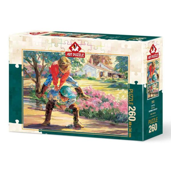 Art Puzzle - Bockhoppning 260 bitar multifärg