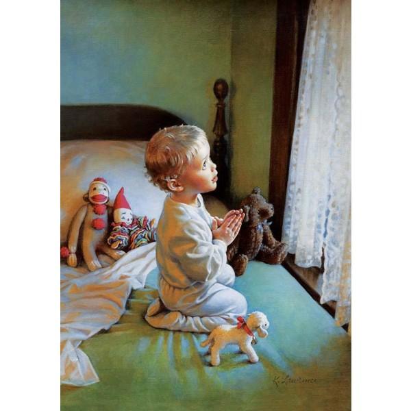 Art Puzzle - Ett barns bön 500 bitar multifärg