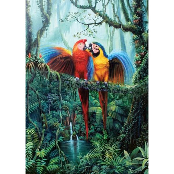 Art Puzzle - Kärlek i skogen 260 bitar multifärg