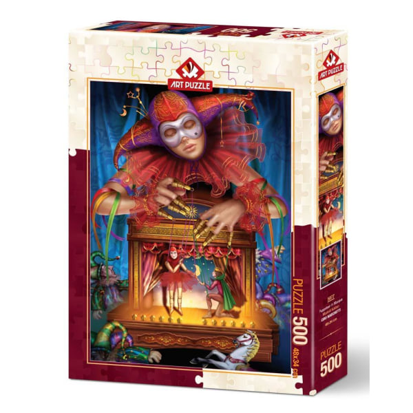 Art Puzzle - Maskerad marionett 500 bitar multifärg