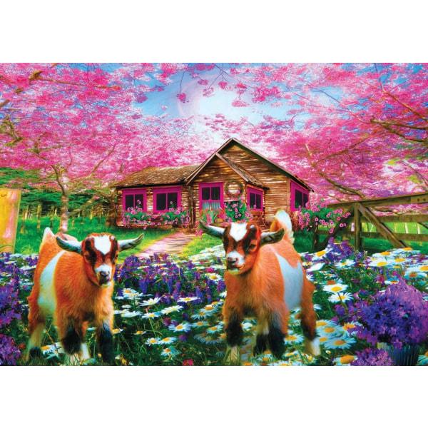 Art Puzzle - När våren kommer 500 bitar multifärg
