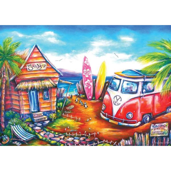 Art Puzzle - Surfläger 260 bitar multifärg