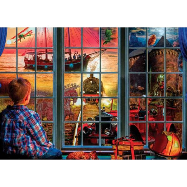 Art Puzzle - Världen inuti 260 bitar multifärg