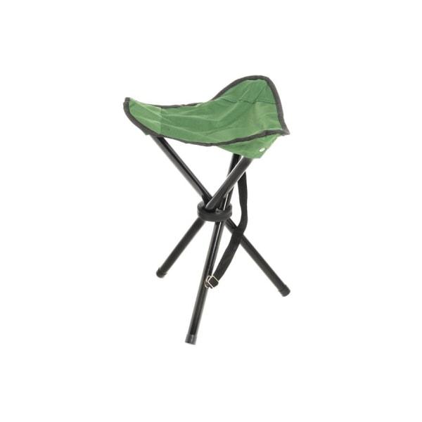 Hopfällbar campingstol Grön