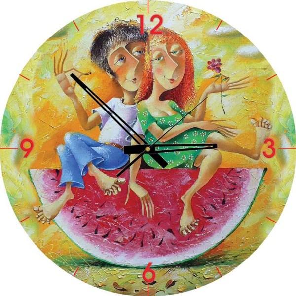 Pussel klocka - Älskar dig, älskling 570 bitar multifärg