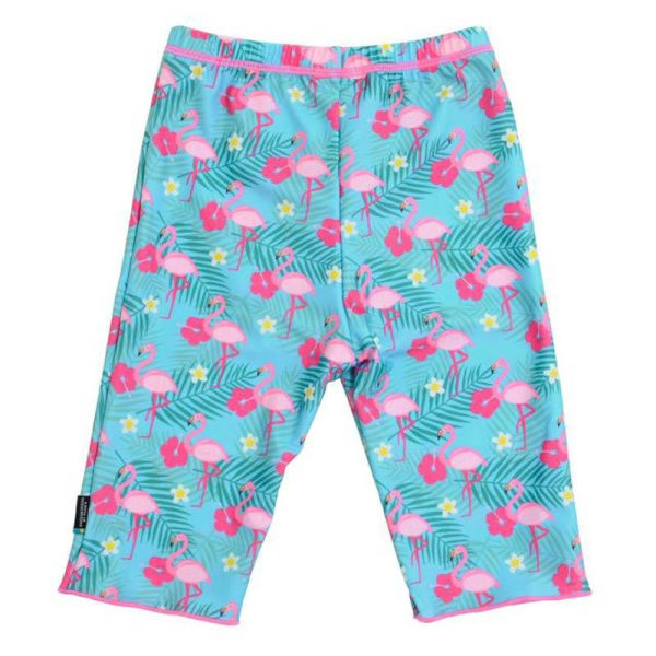 Swimpy Flamingos UV-Shorts Stl 122-128 MultiColor