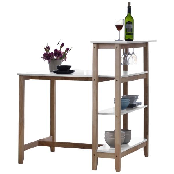 687 Bord med vinhylla mycket praktiskt
