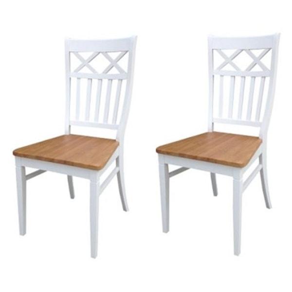 962,630 Vita stolar med ek sitsar levereras 2 st