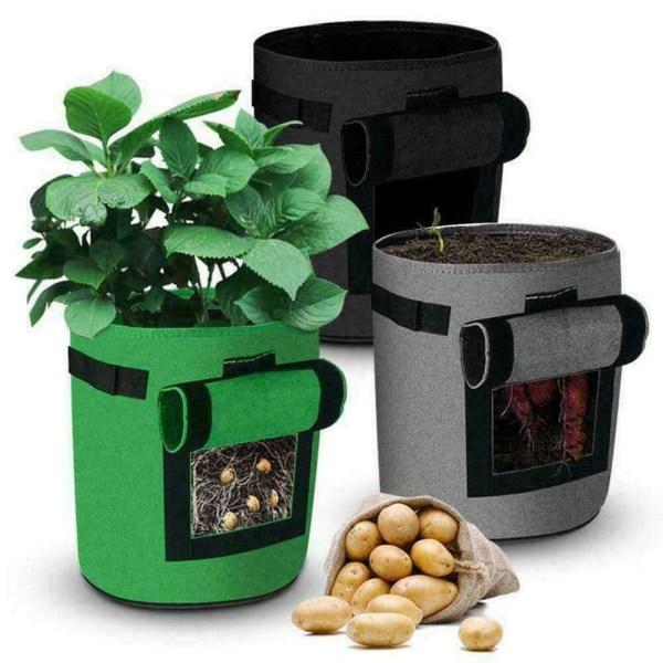 DIY Grow Planter Container Bag Garden Thicken Pot Planting Bag