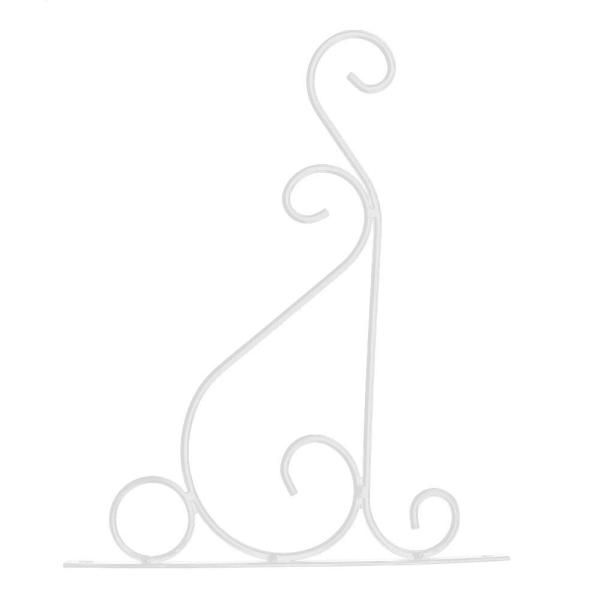Järnvägghängande rack Blomma krokfästehängare Konstväxthåll