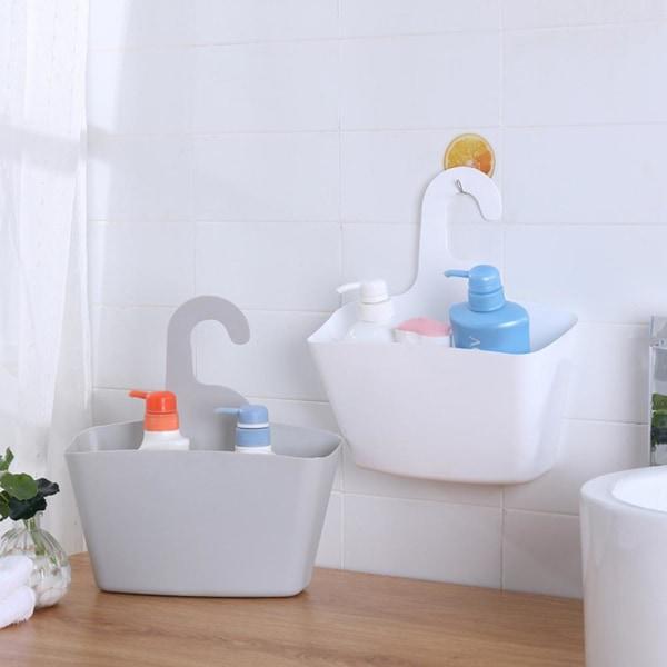 Multi lager plast hängande duschkorg Badrum Caddy korg