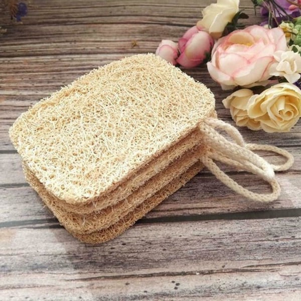 Natural Loofah Sponge Scrubber Dishes Borst rengöring