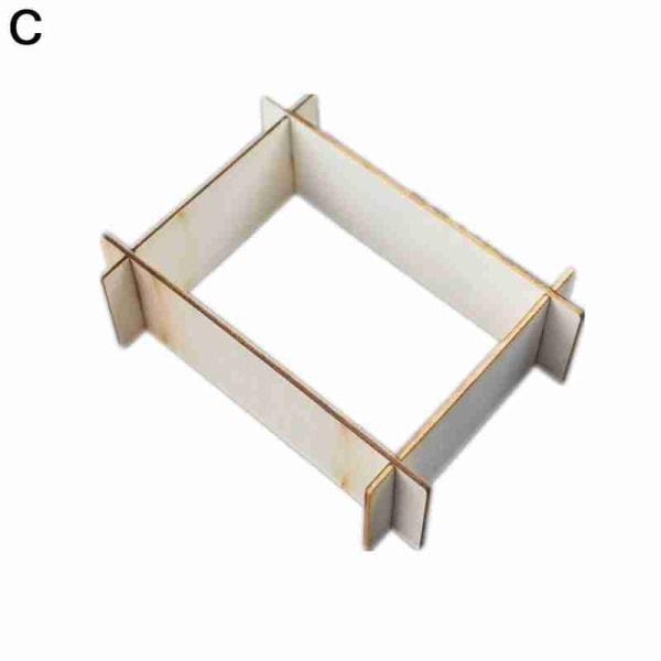 Silikonunderlägg Förvaringshållare Set Hartsgjutform