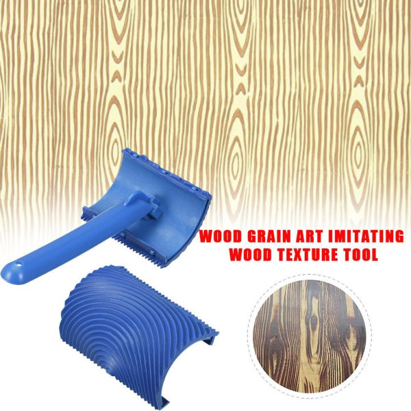 Wood Graining Grain Rubber With Handle Home Improvement B MS17