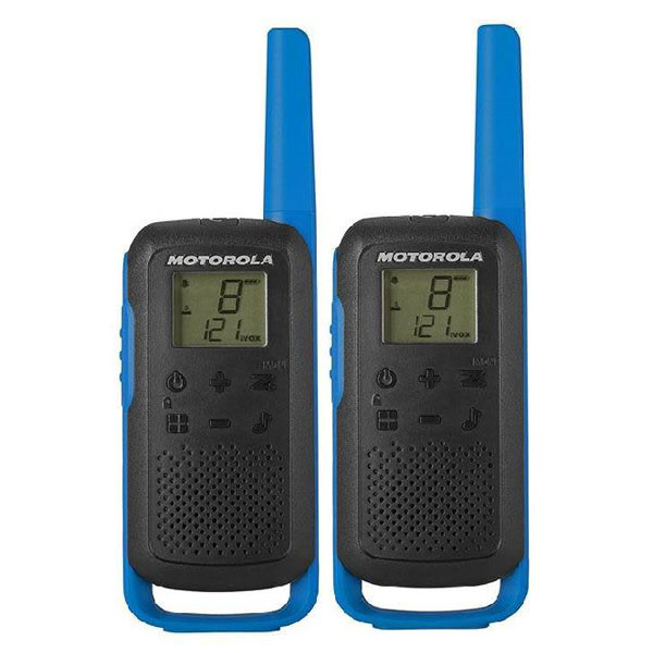 Walkie-Talkie Motorola B6P00811 (2 pcs) Blå