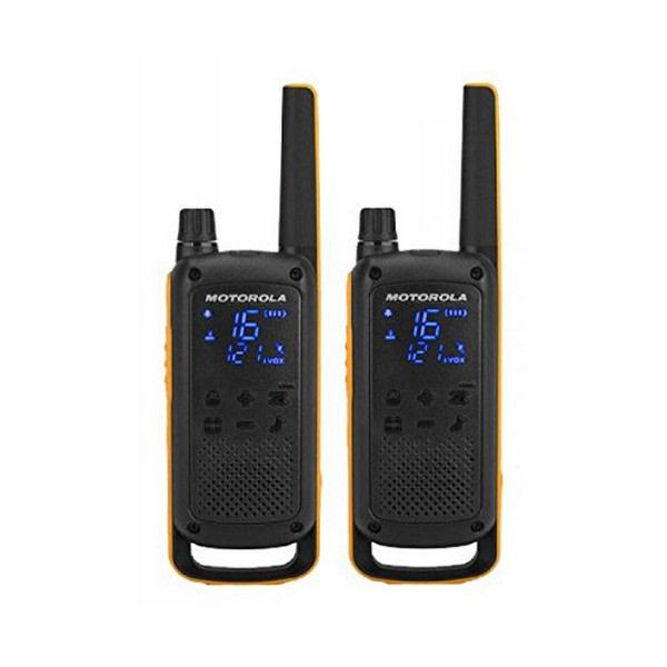 Walkie-Talkie Motorola T82 Extreme (2 Pcs) Svart Gul
