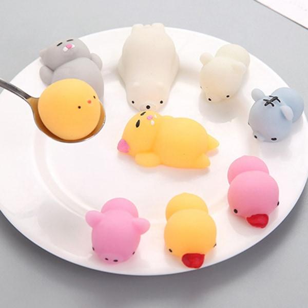 5ST Mochi Toys Animal Party för barnleksaker