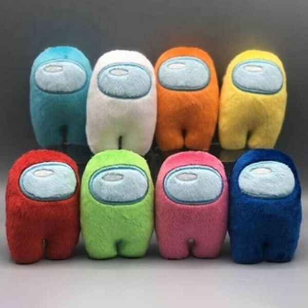 Among Us Game Plush Soft Stuffed Toy Dolls Kid Xmas Gift Green
