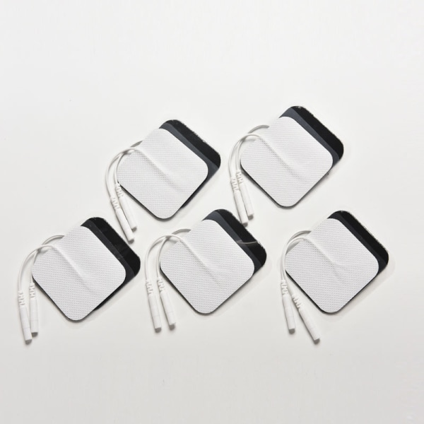 10PCS Tens Massager Electrode Pads Reusable Self Adhesive Pads