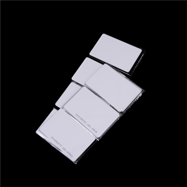 125Khz Door Entry Access Proximity RFID Card Wht 10 Pcs 0 0
