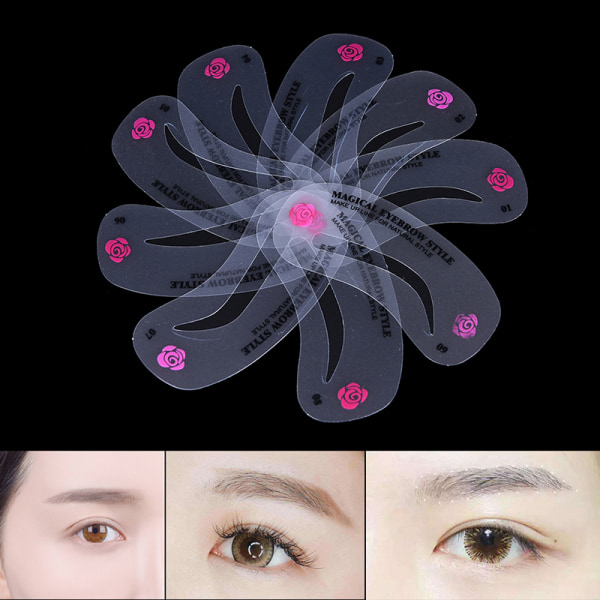 24Style Eye Brow Class Guide Grooming Shaping Assistant Eyebrow