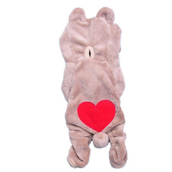 Chihuahua Teddy Dog Puppy Pet Jumpsuit Pajamas Warm Jacket Coat