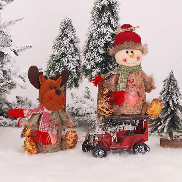 Christmas Nonwoven Cartoon Apple Bag Children Candy Gift Bag Hom B