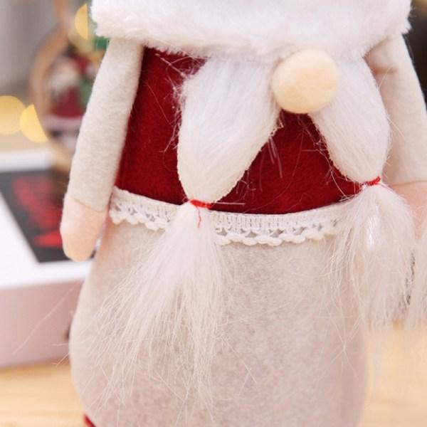 Christmas Red Wine Bottle Set Xmas Dinner Party Santa Claus Bott A