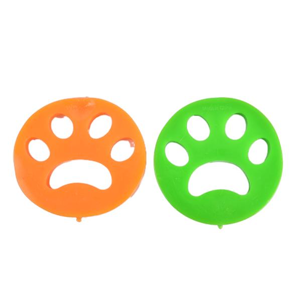Reusable Pet Hair Remover Brush, Cat Lint Dog Fur for Laundry Wa Yellow