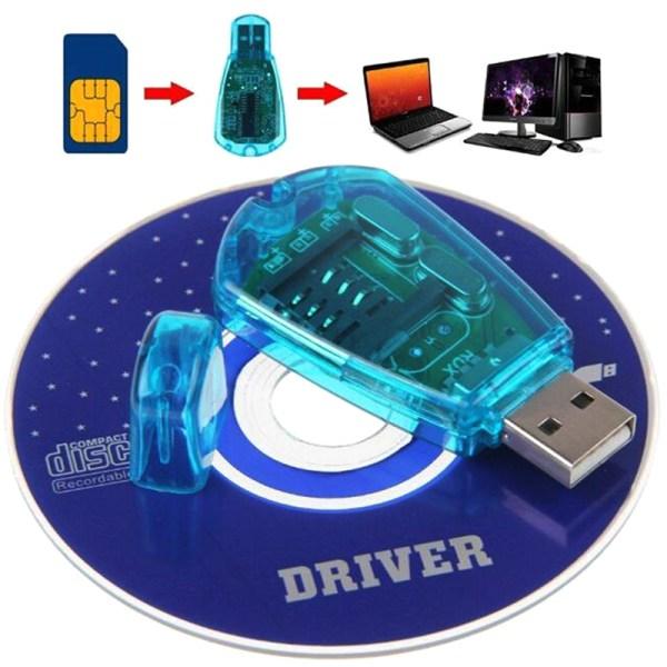 USB Cellphone Standard SIM Card Reader Copy Writer SMS GSM/CDMA+
