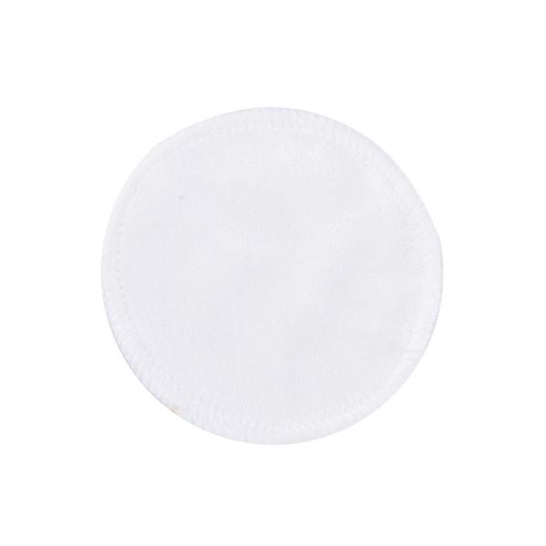 Tvättbar återanvändbar rengöringsbomullsmake-up Remover Pad mjuk Bamb