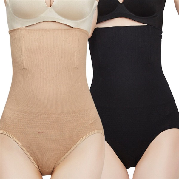 Women High Waist Slimming Belly Control Panties Postnatal Body S Nude XL/XXL