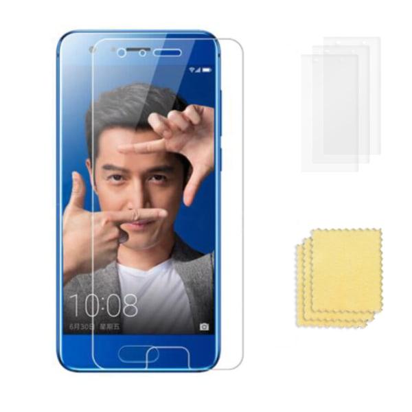 3-Pack Huawei Honor 9 Skärmskydd  Transparent Transparent