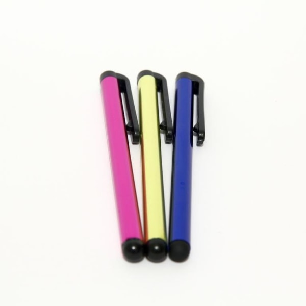 3ST Touch Stylus Penna Universal Till iPhone/iPad/Android Rosa/G Yellow