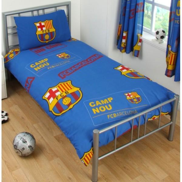 Barcelona Påslakanset Bäddset  135x200 + 50x75 cm Blå