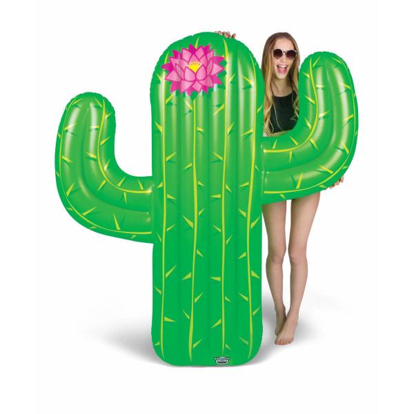 Bigmouth Uppblåsbar Badmadrass Flytande Lounge Giant Kaktus 170c multifärg