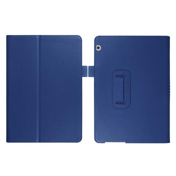 Flip & Stand Smart Cover Fodral Huawei Mediapad T5 10 Mörkblå
