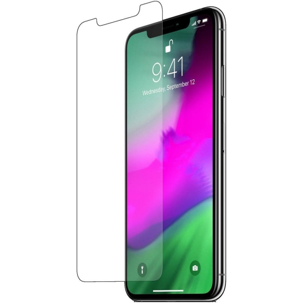 iPhone 12/12 Pro Härdat Glas Skärmskydd Transparent Retail Transparent