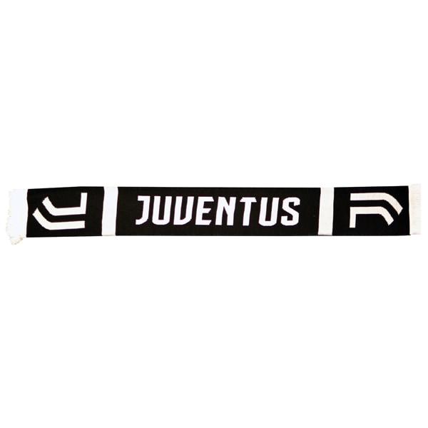 Juventus Home Halsduk Scarf Double Fan 132x19cm Svart one size