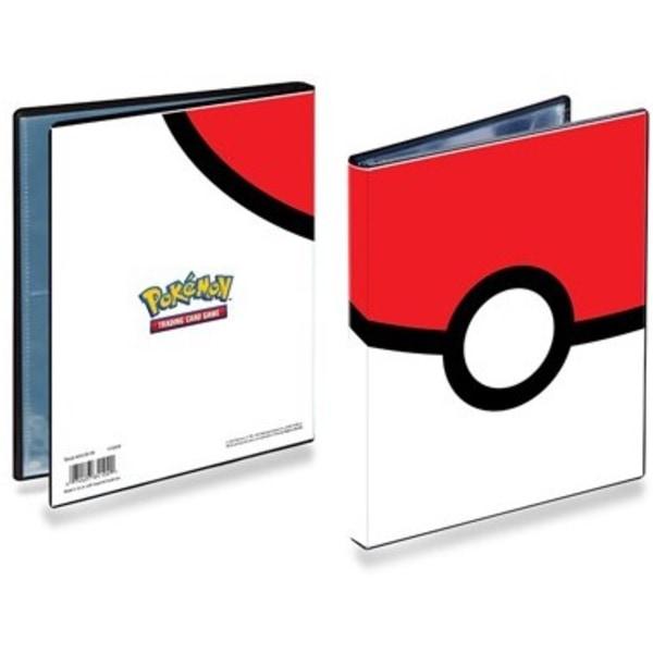 Pokemon Pokeball Portfolio 4-Pockets Ultra Pro Cards Kort