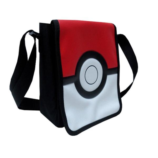 Pokémon Pokeball Shoulderbag Axelväska Väska 20cm multifärg one size