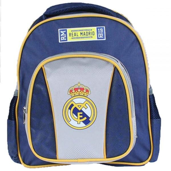 Real Madrid Junior Ryggsäck Skolväska Väska 31 x 28 x 10 cm Blå one size